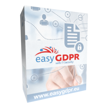 Datenschutz und Datensicherheit mit unserem easyGDPR Paket inkl. Cybersecurity